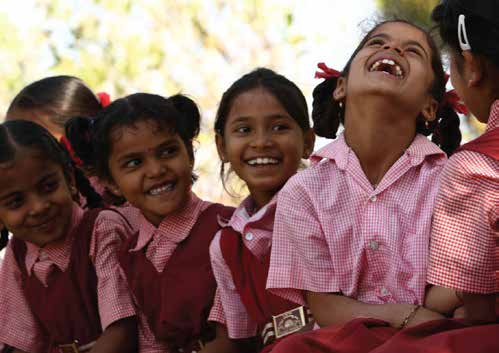 The Care for Children Program, supported by Shankara, educates 67,800 children in India.